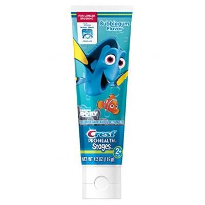 Crest Pro-Health Stages Finding Dory Toothpaste for Kids (for children and toddlers age 2+), 4.2 Ounce