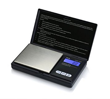 American Weigh Scales  AWS 1KG Digital Pocket Scale, 1000 x 0.1g