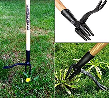 Grampa's Weeder - Stand Up Weed Removal Tool
