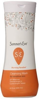 Summer's Eve Cleansing Wash for Sensitive Skin - Gently Cleanses and Freshens - Safe for Everyday Use - pH-Balanced - Doctor Tested - Morning Paradise Scent - 15 Ounce
