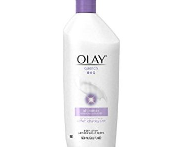 Olay Quench Plus Shimmer Body Lotion 20.2 oz. pump (Pack of 2) (Packaging May Vary)