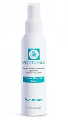 OZNaturals Natural Facial Toner - This Skin Toner Contains Vitamin C, Glycolic Acid & Ocean Minerals - It's Considered To Be The Most Effective Anti Aging Vitamin C Face Toner Available