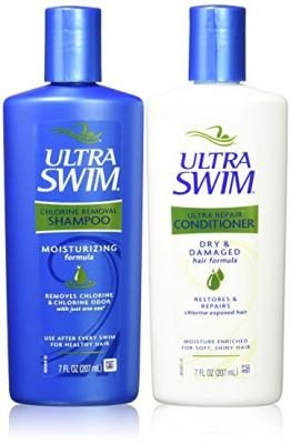 UltraSwim Dynamic Duo Repair Shampoo and Conditioner, 7 Fluid Ounce Each