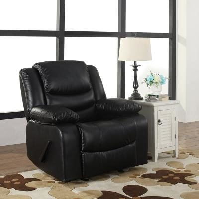 the bonded leather rocker recliner living room chair is an ultra plush and very comfortable living room sleeping recliner thatu0027s finished with a luxurious